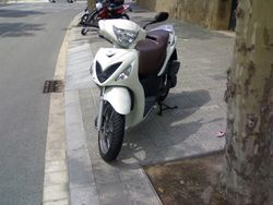 Suzuki Sixteen scooter